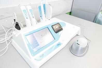 аппарат на приеме врача дерматолога