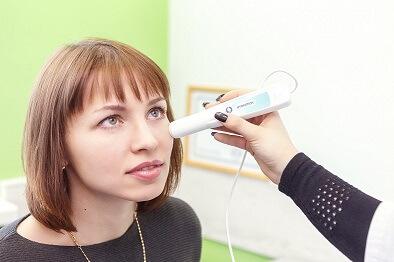диагностика у врача дерматовенеролога