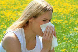 аллергия весной на цветение